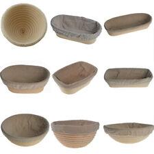 Round/Oval/Long Bread Proving Basket Proofing Basket Banneton Brotform UK