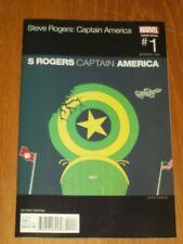 CAPTAIN AMERICA STEVE ROGERS #1 MARVEL COMICS VARIANT SECOND PRINTING