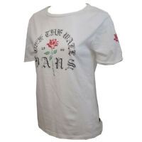 Vans Off The Wall Women's White Rose S/S Tee (Retail $24)