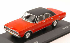 Dodge Charger R/t 1975 Red w/ Black Roof 1:43 Model WB148 WHITEBOX
