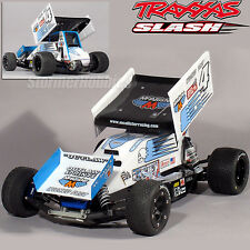 SPRINT BODY - MERCER SPRINT complete package body-wing-driver TRAXXAS SLASH LCG