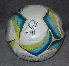 Oribe Peralta Jared Borgetti Signed Auto'D Voit Liga Mx Soccer Ball Santos Mex