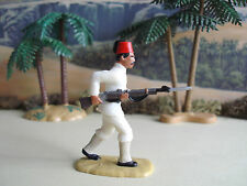 Armies in plastic Sudan Wars Egyptian soldier advancing 1/32 painted
