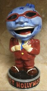 Vintage Planet Hollywood ADVERTISING FIGURINE / STATUE / COCKTAIL 🍸 Nice Cond