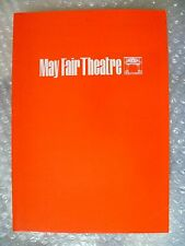 1976 May Fair Theatre Programme The Elocution of Benjamin Franklin-Gordon Chater
