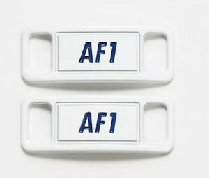 Nike AF1 Replacement Lace Tags Lace Locks Shoe badge Air Force Ones Dubraes  ⚡️