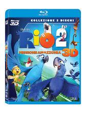 RIO 2 - MISSIONE AMAZZONIA  3D   BLU RAY 3D+BLU RAY+DVD