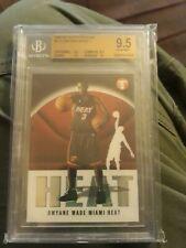 2003-04 Topps Pristine Dwayne Wade Rookie  True Gem Mint BGS 9.5 W/10