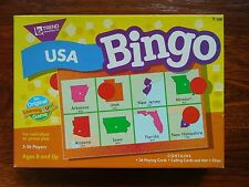 Trend Usa Bingo Learning Game - Age 8+