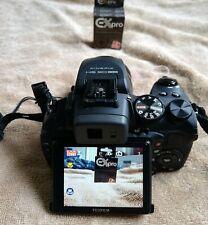 Fuji Finepix HS30EXR 16 mp bridge camera with zoom lens