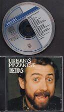URBANUS Urbanus Plezantste Liedjes CD PHILIPS WEST GERMANY SUNG IN DUTCH FLEMISH