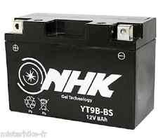 Batterie Au Gel Pret à l'emploi Garantie 1An YT9B-BS  pour Moto Scoot Quad