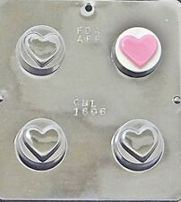 Heart Chocolate Oreo Cookie Mold  1606 NEW