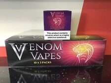 VENOM VAPES #3 VIMTO BLIZZARD. MIX FRUIT COCKTAIL ICE 3mg Nic, 30x 10ml Bottle