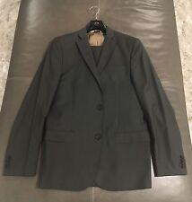 J. Lindeberg Mens 100% Wool Slim Fit Taupe Gray Suit 50R 40R 33x34 $1195