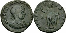 Constantinus II Follis Arles 317 claritas reipvb sol Globus corona Ric 118-r²