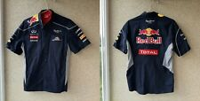 Authentic Infiniti Red Bull Racing F1 Team 2013 Mens Button Shirt PEPE JEANS