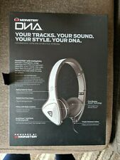 Monster DNA Headband Headphones - White/Gray