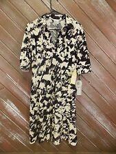 Nine West Dress Black/Cream Polyester/Spandex Women's Size 4 NWT
