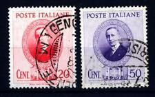 ITALIA - Regno - 1938 - Guglielmo Marconi. Effigie dello scienziato - 20 c. 50 c