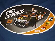 2012 CARL EDWARDS #99 GEEK SQUAD NASCAR POSTCARD