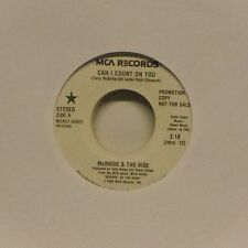 "McBRIDE & THE RIDE 'CAN I COUNT ON YOU' US IMPORT 7"" SINGLE PROMO COPY"