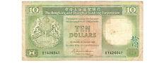 Early Hongkong  1986  HK$10   Banknote  !