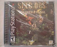 Spec Ops Stealth Patrol (PlayStation PS1) Brand New, Sealed!