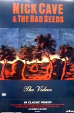 NICK CAVE & THE BAD SEEDS 2004 videos DVD promo poster ~MINT~NEW old stock~!!