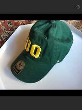 UNIVERSITY OF OREGON UO DUCKS EMBROIDERED SNAPBACK CAP HAT GREEN NWT UNISEX