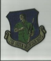 The Green Mountain Boys US Air Force subdued patch 3-1/8 X 3 #674