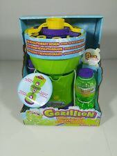 Gazillion Bubble Rush Bubble Blower Machine Bubbles for Kids NEW