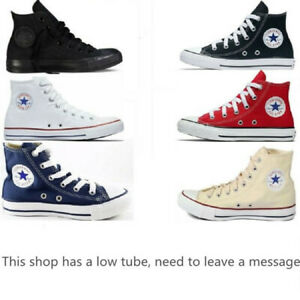 NEW Converse CHUCK TAYLOR All Star High Top Unisex Canvas Shoes Sneakers