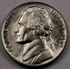 1939 Jefferson Nickel // Uncirculated //. 1 Coin