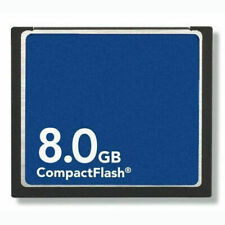 8GB CF 8GB CompactFlash CF Memory Card Genuine With Case For Canon Sony etc