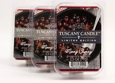 Tuscany Candle Merry Cherry Wax Melts 6 Cube Pack Times 3 Fragrance