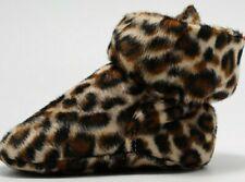 New Soft Sole Newborn Baby Boy Girl Pre-Walker Leopard Print Shoe Trainers 0-18M