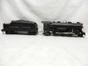 PREWAR LIONEL 224E STEAM LOCO & 2224W DIE CAST TENDER, C-7 EX, RUNS FINE, NO RSV