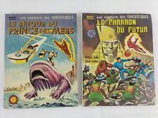 Une aventure des Fantastiques n°21 et 27 1980 1982 VF  Envoi rapide et suivi