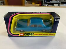 Corgi #280 Rolls Royce Silver Shadow In Original Box