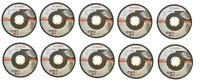 BOSCH 2608601259 ANGLE GRINDER CUTTING DISC INOX METAL 125MM *PACK OF 10* IN TIN