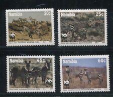 NAMIBIA  #694 -97 VF, MNH Mountain Zebra ( WWF ) - S8122
