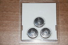 3x PHILIPS GENUINE HQ9/50 SPEED XL ROTARY BLADES FOILS SHAVER CUTTING HEADS HQ 9