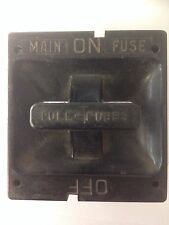 Square D 60 Amp Fuse Holder Pull Out - MAIN