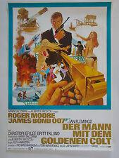 James Bond 007 - Der Mann mit dem goldenen Colt - Filmplakat DIN A1 (gerollt)