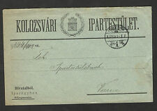 HUNGARY-SERBIA-TRAVELED INTERESTED OFFICIAL LETTER-VRSAC - 1902.