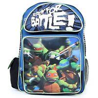 """Teenage Mutant Ninja Turtles 16"""" Backpack TMNT Book Bag"""