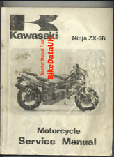 Kawasaki ZX6R F1 (1995 >) Genuine Factory Shop Manual Book ZX6R ZX 600 F BT09