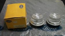 FORD CORTINA ESCORT CAPRI FALCON HELLA NOS SET OF REVERSE / PARK LAMP ASSY'S