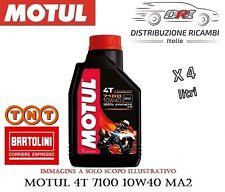 OLIO MOTORE MOTO MOTUL 7100 10W40 MA2 4T 4 LITRI